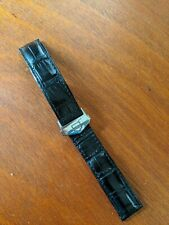 TAG Heuer Leather Watch Strap/Band (22mm) Deployment Clasp - Carrera, Aquaracer