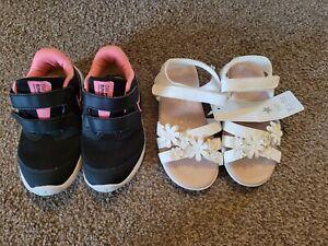 Girls Trainer Sandal Bundle Size 9