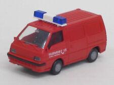 "Mitsubishi L 300 '87 Transporter ""Feuerwehr 112"" rot, o.OVP, Rietze, 1:87"