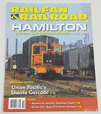 Railfan & Railroad Magazine Back Issue November 2016 Hamilton Busy District