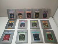 Vectrex 3000 Boxed Games with Overlays - Near Mint Condition -