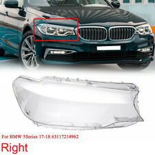 Right Side Headlight Headlamp Lens Cover For 5 Series BMW G30 G31 G38 2017 2018