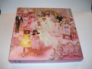 Vintage 1996 Mattel Barbie Doll Wedding Party Jig Saw Puzzle - Complete