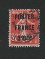 Préoblitéré N°38 30 c semeuse poste France 1922