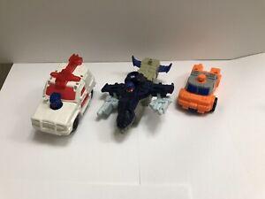 McDonald's Transformers Armada Cyclonus Red Alert Smokescreen Lot