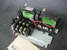 GE General Electric CR209A1 3 pole Size 00 Reversing Motor Starter w/ 230v coils