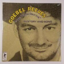 GOEBEL REEVES The Texas Drifter LP Glendale GL 6019 US 1979 SEALED 8H