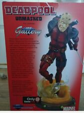 Marvel Gallery Deadpool 9-Inch PVC Figure Statue Unmasked GameStop Exclusive NIB
