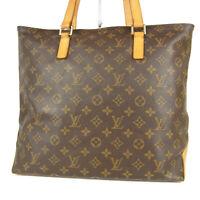 Auth LOUIS VUITTON M51151 Monogram Cabas Mezzo Tote Hand Bag France 14094bkac