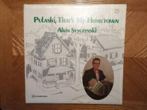 CUCA/AMERICAN LP RECORD KS 2124/ Alvin Styczynski /PULASKI, THAT'S MY HOMETOWN