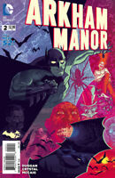 ARKHAM MANOR #2 DC Comics 1st Print VARIANT 1:25 COVER B
