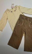 NWT Gymboree girl detective corduroy pants ivory bodysuit girl size 18-24m