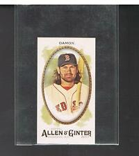 JOHNNY DAMON 2017 Topps Allen & Ginter- No Number - Mini SP VARIATION Red Sox