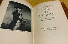 New listing Southey's Life of Nelson leather bound folio society