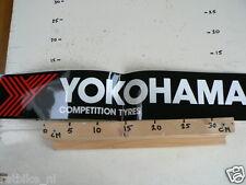 STICKER,DECAL YOKOHAMA COMPETITITON TYRES BIG SIZE IS FOLDED
