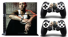 Cool eminem TK SKIN PROTECTIVE STICKER for  SONY PS4 CONSOLE CONTROLLE