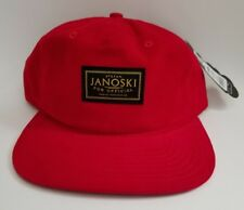 Official Skate presents the Janoski Estate Red 6 Panel Red Corduroy Cap Hat