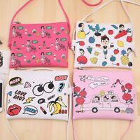 Fashion New Women Girl Shoulder Bag Makeup Storage Bag Crossbody Bag Purse