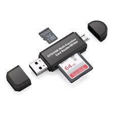Micro USB OTG To USB 2.0 Adapter SD/SDHC/SDXC Card Reader Small Practical