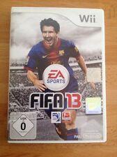 FIFA 13 (Nintendo Wii, 2012, DVD-Box)