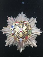 Austria Second Republic. Order Of Merit Breast Star 98mm