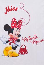 Cortina De Voile Neto de Disney-Minnie Mouse En Rojo - 75cm Ancho x 150cm de gota
