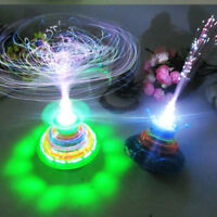 Fun Spinning Top Gyro Spinner LED Music Light Kids Children Toy Xmas W^