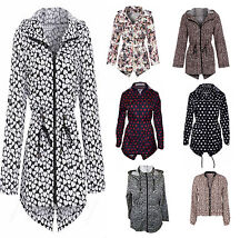 Brave Soul Zip Polyester Casual Coats & Jackets for Women