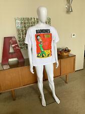 Ramones Rocket To Russia Tour 1977 Vintage Punk Rock XL Hanes tag