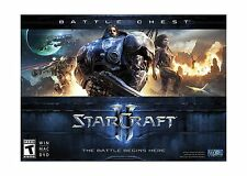 Starcraft II: Battle Chest - PC/Mac Free Shipping