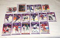 LOT of 16 1990-91 Hockey Cards Wayne Gretzky Score Topps