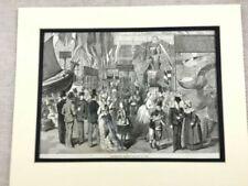 Antique (Pre - 1900) Paper Maritime Art Prints