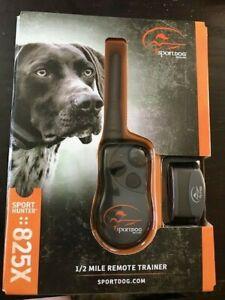 SportDOG Sport Hunter SD 825X 1/2 Mile Range Remote Trainer Collar Recharges NEW