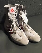 Adidas Box Hog x Special Men's Boxing Shoes White/Red AC7148 New Size 11