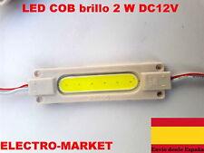 Módulo LED COB brillo 2 W DC12V COB lámpara de luz blanco,rojo azul
