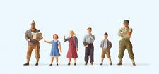 """Preiser 10613 H0 Figuren """"US-Soldaten mit Kindern""""  #NEU in OVP##"""