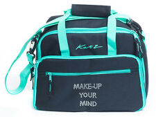 S Las Large Black Dance Ballet Tap Make Up Holdall Cosmetic Bag Kb71 Katz