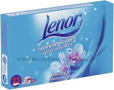 LENOR - Fabric Softener - Spring Fresh - 25 Tumble Dryer Sheets