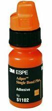 Dental 3m Adper Single Bond Bonding Adhesive 6g Orange Bottle 51202