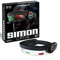 Hasbro Gaming Simon Optix Electronic Touch Game with Headset Light & Sound Toy