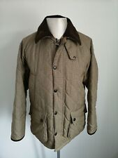 Mens Barbour County Endurance Tartan Country Jacket VGC - Size Small