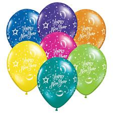 Feliz Año NUEVO Globos látex Mezcla Color para NUEVAS Año Víspera Celebración