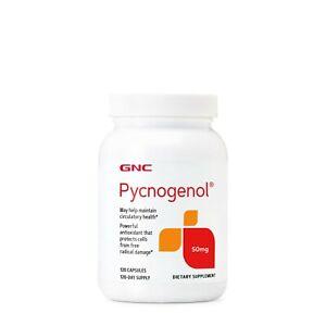 GNC Pycnogenol 50mg 120 Capsules