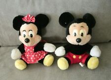 Mickey Mouse and Minnie Mouse Disney stuffed animal unisex