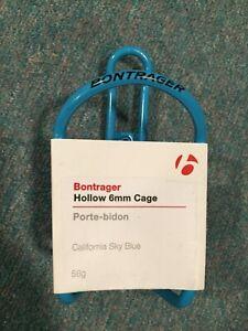 BONTRAGER Hollow 6mm Aluminum Water Bottle Cage Blue