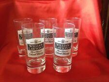 WILLIAM LAWSON'S 5 Verres  Whisky Hauteur 13 Cm