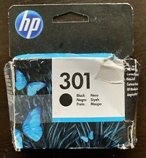 HP 301 Ink Cartridge - Black (CB316EE), Unopened, Sealed Box