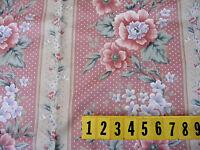 Medium Cotton Fabric Multi Colour Blue Floral New by Dcf 135cm Wide