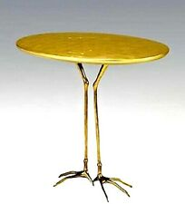 Meret Oppenheim Traccia Table Vintage Gold