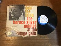 Horace Silver Quintet LP - Doin the Thing - Blue Note BLP 4076 Ear RVG